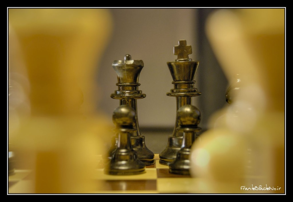 Chess by Frank Black Noir via Flickr Commons